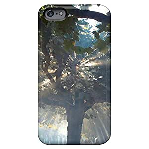 iphone 6plus 6p Hot Style mobile phone back case stylish Dirtshock magic tree 2