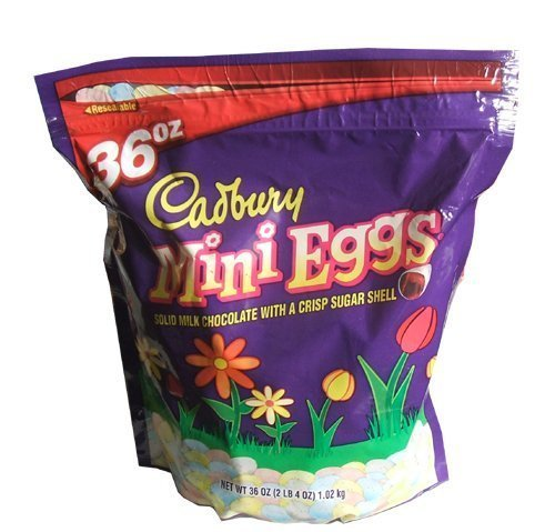 Cadbury Easter Candy Coated Mini Eggs, 36 Ounce Bag by Cadbury Adams [Foods]