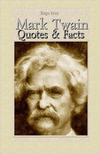 Mark Twain: Quotes & Facts: Blago Kirov: 9781507730171 ...