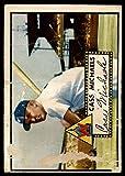 #3: Baseball MLB 1952 Topps #178 Cass Michaels P Poor Senators