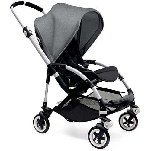 Bugaboo Bee3 Sun Canopy Extendable – Grey Melange – Black – Aluminum