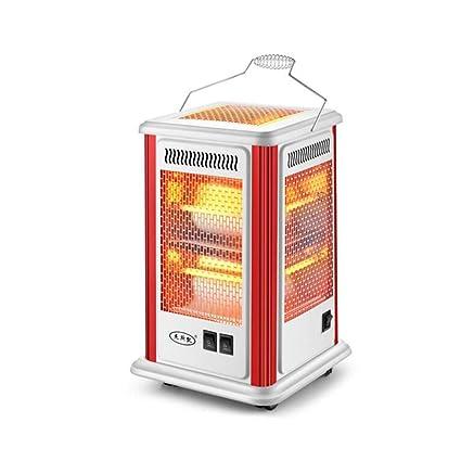 CJC Eléctrico Calentadores Estufa 2 Calor Ajustes Cuarzo Tubo 360 Grados Calefacción Multifuncional Calefacción