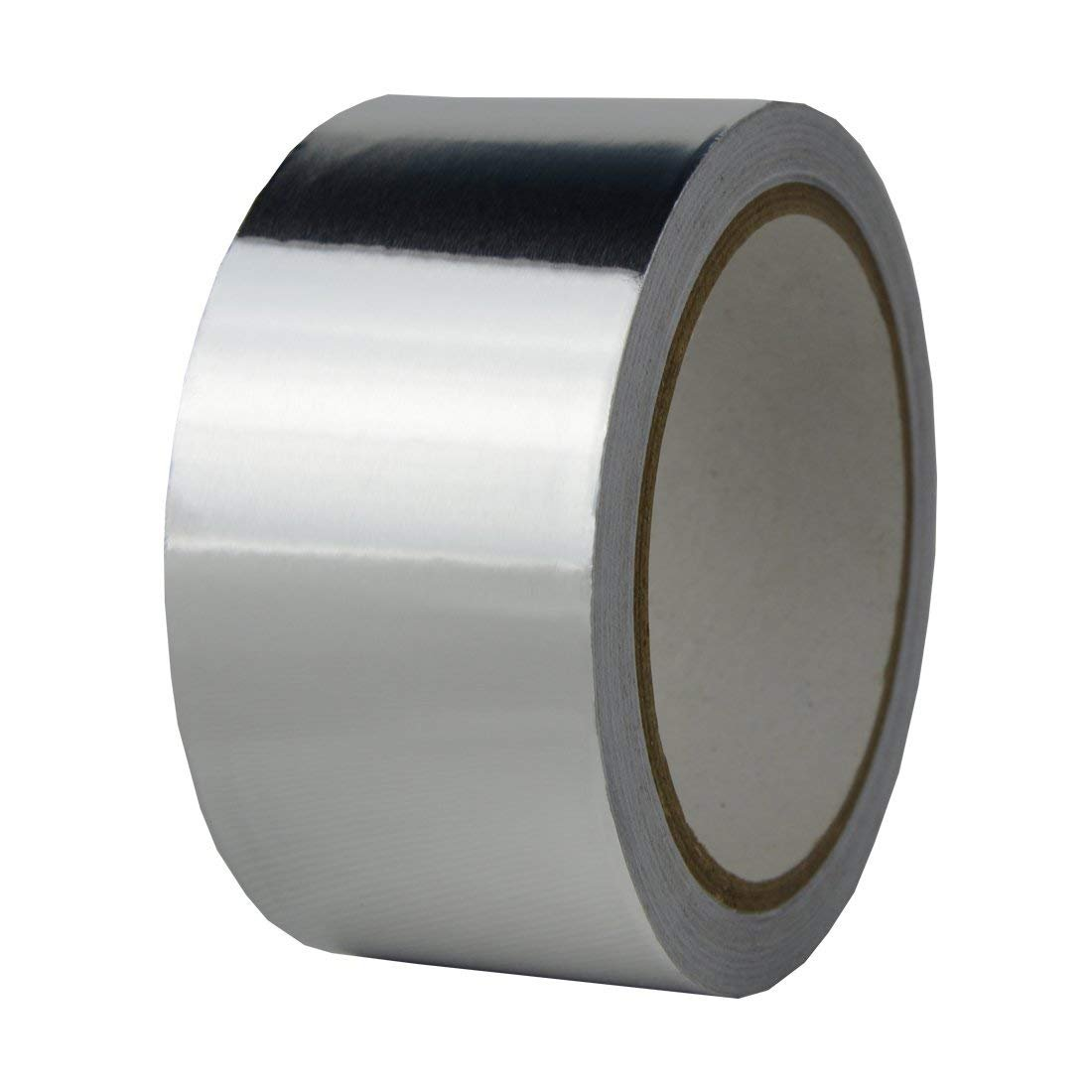AIYUNNI Multi-Purpose Aluminum Foil Tape, Silver, 2-Inch x 55 Yards (50mm x 50m),best for HVAC,High Temp Heat-Resistant Foiled Tape Rolls for HVAC Repair, Metal Repair Ducts, Insulation, Dryers, Jewel