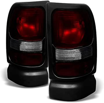 For 1994-2001 Dodge Ram 1500 Pickup Replacement Tail Lights Lamps 94-01 Left+Right ACANII