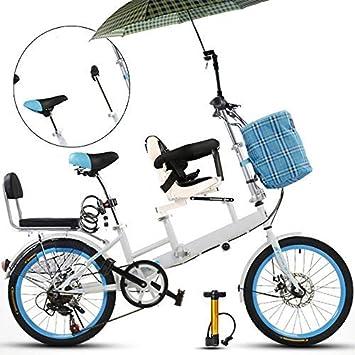 Axdwfd Infantiles Bicicletas 20 Pulgadas de Bicicleta, la Madre y ...