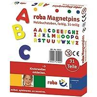 roba-kids- Juego de imanes con Alfabeto, Multicolor (roba