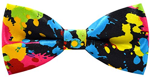 Carahere Handmade Boy's Patterned Bow ties 14R