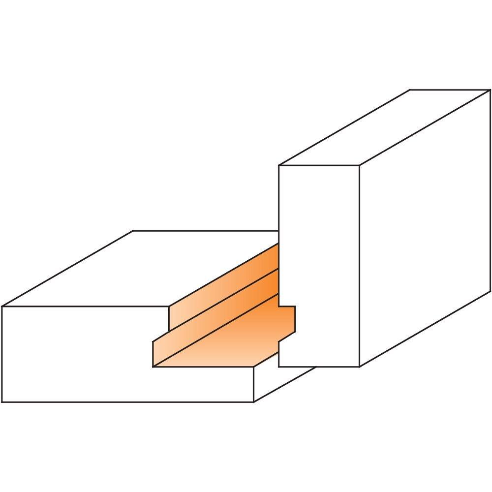 CMT 855.502.11 Drawer Lock Bit 1//2-Inch Shank Carbide-Tipped 2-Inch Diameter