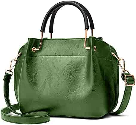 17c4d0c8d476 Nevenka Women Purses and Handbags Crossbody Three layers Leather satchel