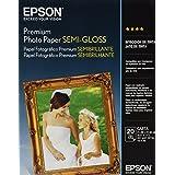 """Epson Premium Papel Fotográfico Premium Semibrillante, 20 hojas, 251g/m, 8.5""""x11"""""""