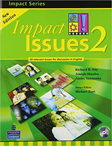 amazon impact issues 2e level 2 student book with cd richard r