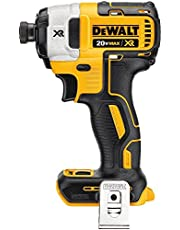 DEWALT 20V MAX* XR Impact Driver Kit, Brushless, 3-Speed, 1/4-Inch, Tool Only (DCF887B)