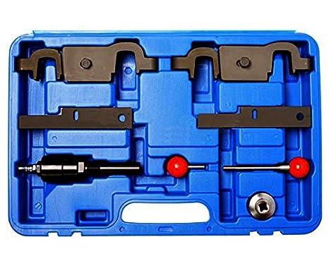 Porsche Cayenne Panamera Motor Cam del árbol de levas Timing Tool V8 4.5L 4.8l V6 y 3,6 l Audi Q7 9678, 9595: Amazon.es: Coche y moto