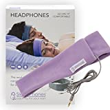 AcousticSheep SleepPhones Classic Sleep Headphones (Lavender, Medium - One Size Fits Most)