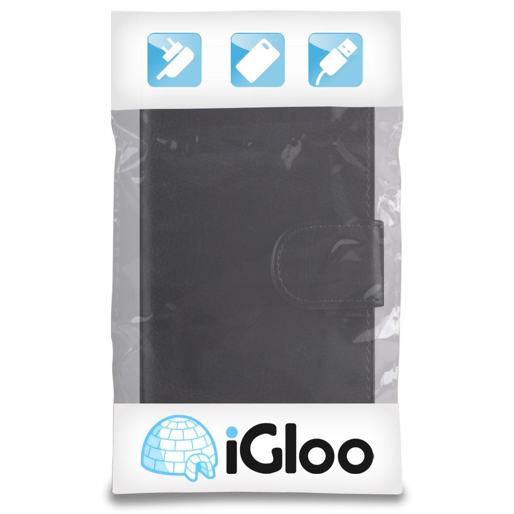 Iglû piel funda tarjetero para HTC Desire 510 del teléfono móvil, compatible con HTC Desire, color Negro: Amazon.es: Electrónica