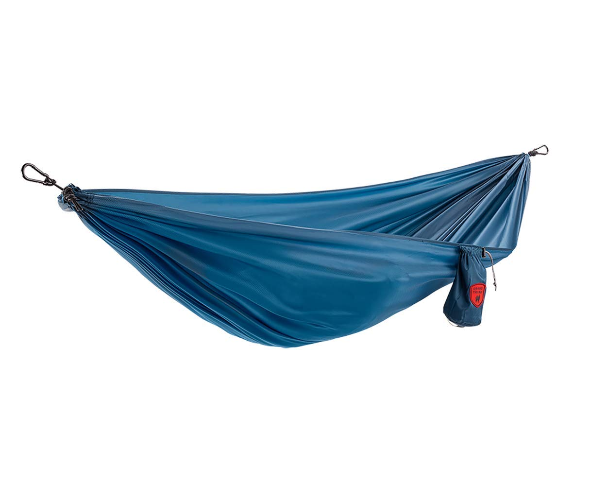 Grand Trunk Ultralight Hammock |Starter Hammock | Portable Camping, Hiking, Backpacking, and Travel Hammock (Blue)