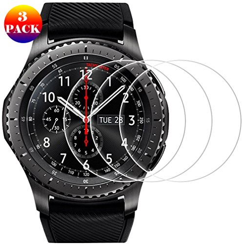 9f79077b767  3 Pack  Samsung Gear S2 Classic Screen Protector Glass GOGODOG Full Cover  Ultra Clear