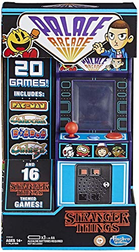Hasbro Gaming Stranger Things Palace Arcade Handheld Electronic Game Ages 14 & Up