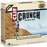 Clif Crunch White Chocolate Macadamia Nut Bar 7.4 Ounce 10 Ct