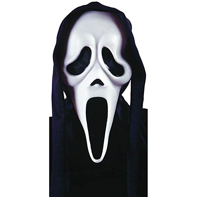 Deluxe Ghost Face Mask