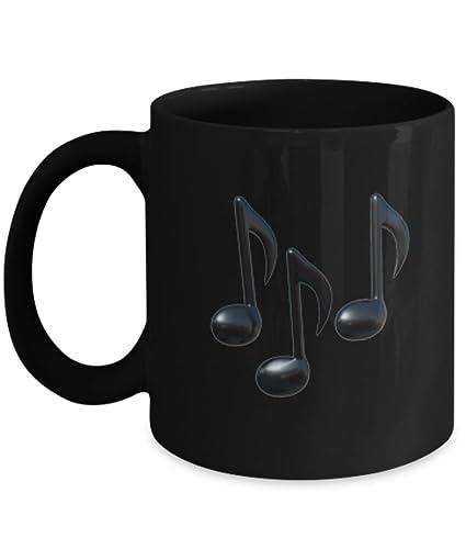 Amazon com: -Emoji Mug - Multiple Music Notes Emoji - 11 & 15 OZ