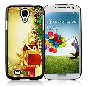 2014 New Style Samsung S4 TPU Protective Skin Cover Merry Christmas Black Samsung Galaxy S4 i9500 Case 42 hjbrhga1544
