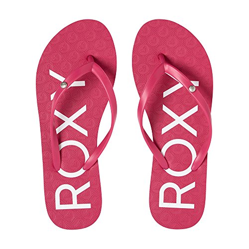 Roxy Sandy, Chanclas Para Mujer Berry