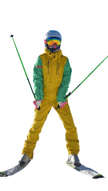 スキースーツ スキーウエア メンズ レディース 上下セット 防水 スノーボードウェア ジャケット パンツ ズボン 男女兼用 ユニセックス スノーボード ウィンタージャケット ウィンターパンツ スキー ウェア ウエア セットアップ ウィンターウェア 上着2+パンツ Small