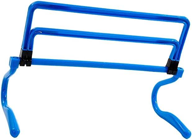 LIOOBO Obstáculos de Entrenamiento de Velocidad Ajustable Equipo de Entrenamiento de Velocidad Pliométrica Multideporte (Azul): Amazon.es: Deportes y aire libre