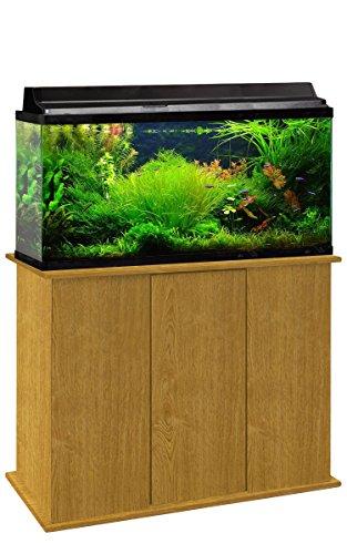 Aquatic Fundamentals 36501-44-AMZ 50-65 Gallon Upright Aquarium Stand, Solar Oak by Aquatic Fundamentals