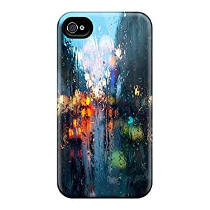 New Style Oilpaintingcase88 Rainy Street Premium Covers Cases For Iphone 6