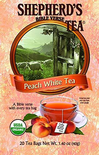 Organic Peach White Bible Verse Tea