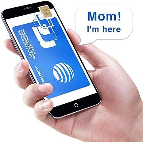 At T Prepaid Sim Karte Fur Usa Kanada Und Amazon De Elektronik