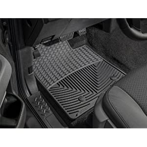 WeatherTech Trim to Fit Front Rubber Mats for Select Chevrolet/GMC/Cadillac Models (Black)