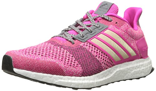 Buy now adidas Performance Women's Ultra Boost Street Running Shoe,Shock Pink/Half Pink/Mineral Red,9.5 M US