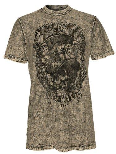 AFFLICTION Herren Designer Shirt - DEEP SOUTH -