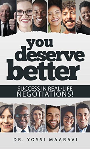 You Deserve Better by Yossi Maaravi ebook deal