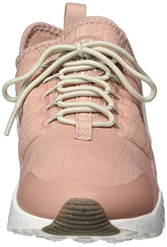 Nike Womens Air Huarache Run Ultra Scarpe (11, Rosa / Bianco-m)