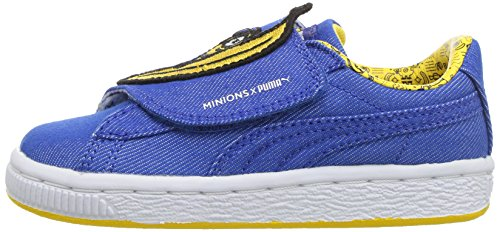 Pictures of PUMA Baby Minions Basket Wrap Statement Leather 36408801 5