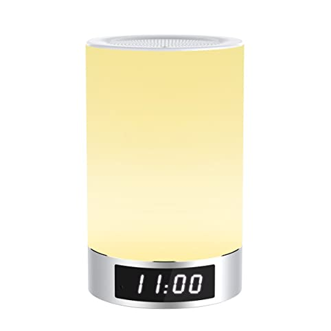 Honxee L5 LED Bluetooth Lautsprecher Wake up Lichtwecker ...