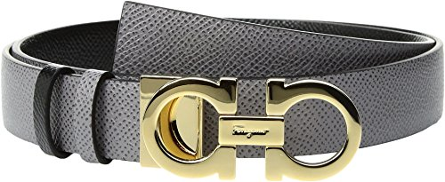 Salvatore Ferragamo Women's 23A565 Urban Grey Belt by Salvatore Ferragamo