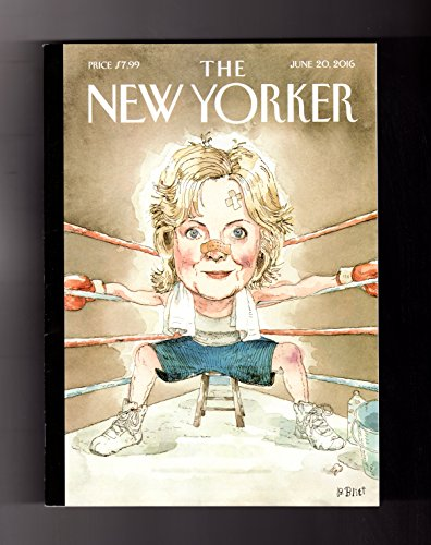 New Yorker - June 20, 2016. Hillary Clinton