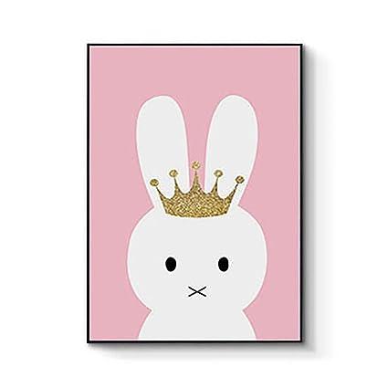 super1798 unicornio conejo letras lona pintura habitación carteles ...