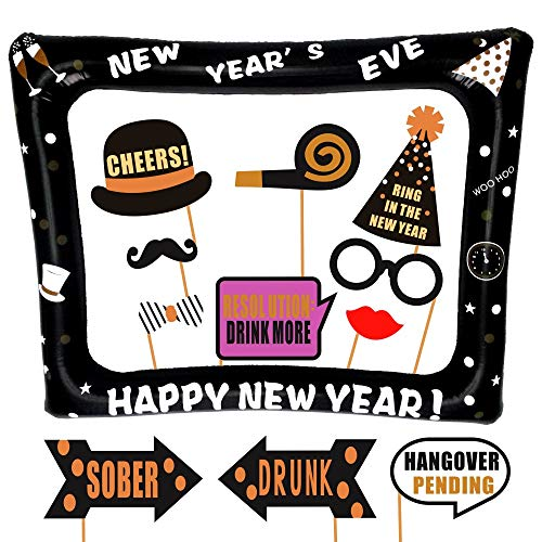 New Years Eve Inflatable Frame and Photo Booth
