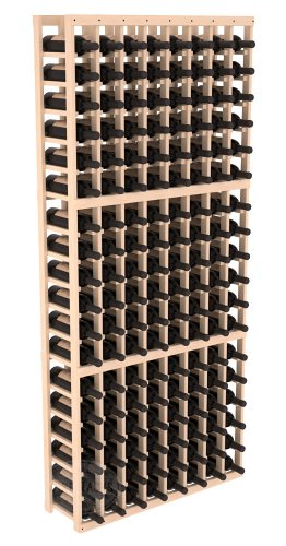 Wine Racks America Ponderosa Pine 8 Column Wine Cellar Kit. 13 Stains to Choose From!