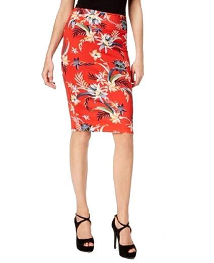 ef9d499931 Thalia Sodi Printed Scuba Pencil Skirt at Amazon Women's Clothing store: