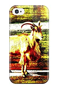 Hot 4496125K24064160 Iphone 4/4s Case, Premium Protective Case With Awesome Look - Capricorn
