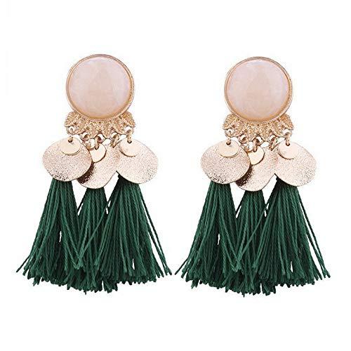 Waldenn New Styles Women Ladies Girls Boho Long Earrings Party Holiday Fashion Jewellery | Model ERRNGS - 9530 | ()