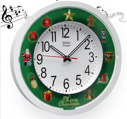 Mag-Nif Holiday Times 5-in-1 Musical Clock (Clock 1 A)