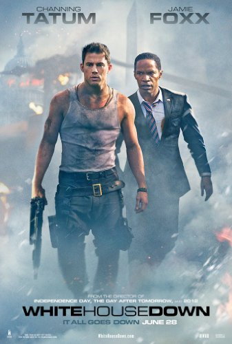 WHITE HOUSE DOWN MOVIE POSTER 1 Sided ORIGINAL 27x40 CHANNIN